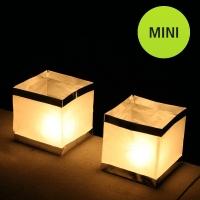 Pack de 10. Cubo de luz flotante mini. Pack de 10.