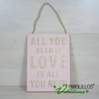 """Cartel """"All you need is love"""""""