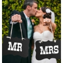 Carteles Mr and Mrs