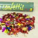Cañón manual confetti 40cm