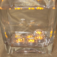 Velas led sumergibles. Pack de 6 unidades.