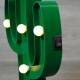 Lámpara diseño cactus con luces led