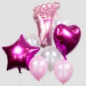 Globos It's a Girl (20ud)