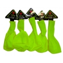 Pack de 5 globos led verdes